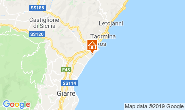 Map Taormina One-room apartment 108550