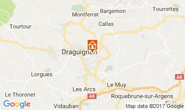 Map Draguignan Villa 111531