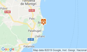 Map Begur House 118746