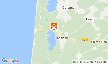 Map Lacanau House 115223