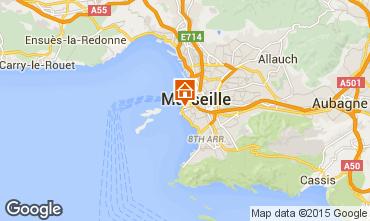 Map Marseille Apartment 74517