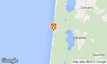 Map Lacanau One-room apartment 86706