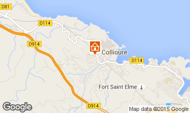 Map Collioure House 93524