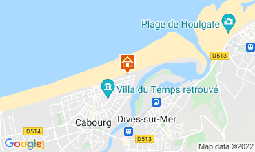 Map Cabourg Apartment 10782