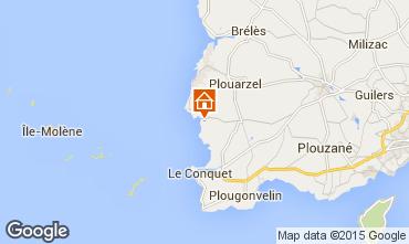 Map Le Conquet House 34742