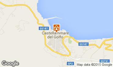 Map Castellammare del Golfo Apartment 49143