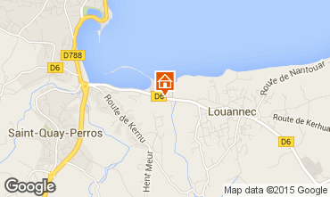 Map Perros-Guirec Mobile home 7433