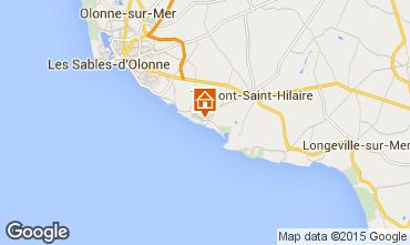Map Talmont-Saint-Hilaire Apartment 7129