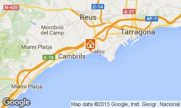 Map Cambrils Apartment 78295