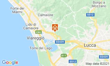 Map Viareggio Apartment 87836