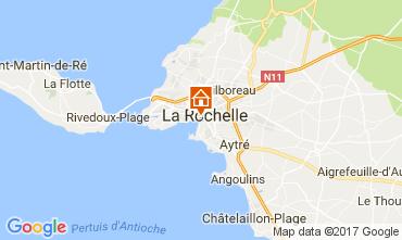 Map La Rochelle One-room apartment 109211