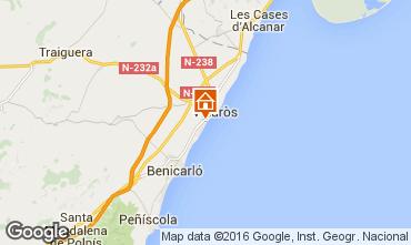 Map Vinaròs Villa 102775