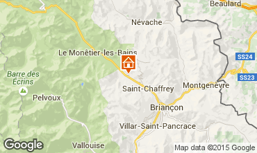 Map Serre Chevalier Apartment 2861