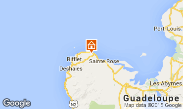 Map Sainte Rose Vacation rental 62646