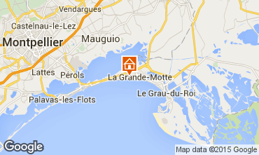 Map La Grande Motte One-room apartment 60725