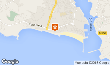 Map Praia da Rocha Apartment 88195
