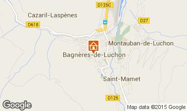 Map Luchon Superbagneres Apartment 4216