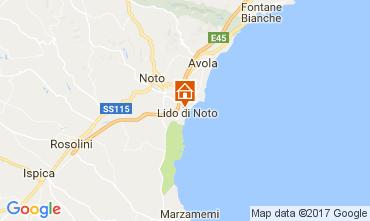 Map Noto Villa 102661