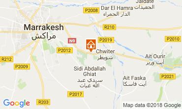 Map Marrakech Villa 80370