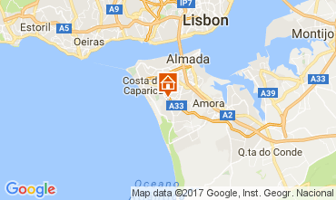 Map Lisbon One-room apartment 91278