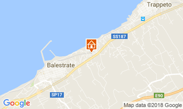 Map Balestrate Villa 113429