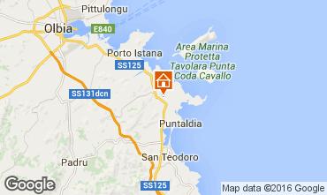 Map San Teodoro Apartment 32404