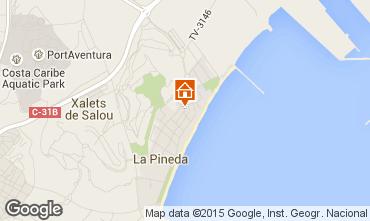 Map La Pineda Apartment 70004