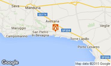 Map Torre Lapillo Villa 75536
