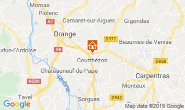 Map Avignon Apartment 120079