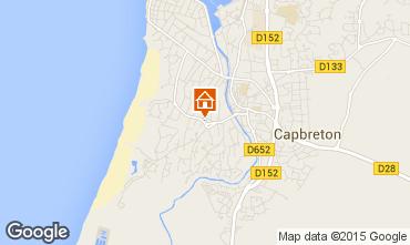 Map Capbreton Apartment 29079