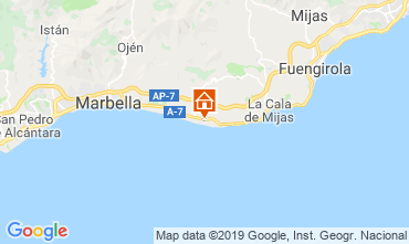 Map Marbella One-room apartment 101965