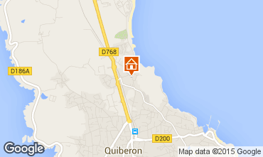 Map Quiberon House 8770