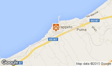 Map Trappeto Apartment 97266