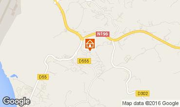 Map Ajaccio House 102722