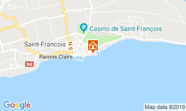 Map Saint Francois Apartment 31362