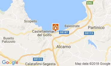 Map Alcamo Marina Apartment 114229