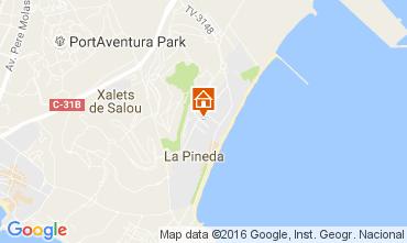 Map La Pineda Apartment 19681