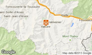 Map Valloire Apartment 100352