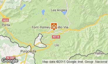 Map Font Romeu Apartment 52616