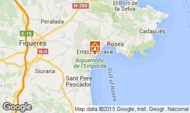 Map Empuriabrava One-room apartment 82881