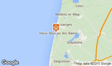 Map Vieux Boucau Apartment 10054