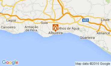 Map Albufeira Apartment 105653