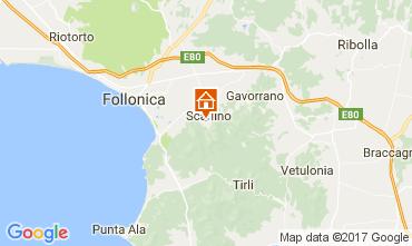 Map Scarlino Apartment 109783