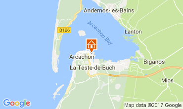 Map Arcachon House 112165