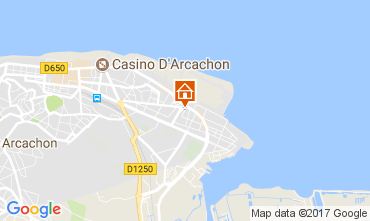 Map Arcachon House 112165