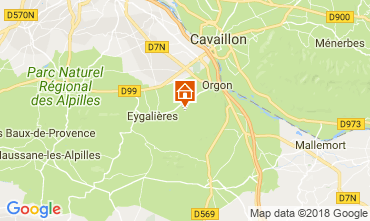 Map Eygalières House 114443