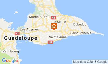 Map Sainte Anne (Guadeloupe) House 115139