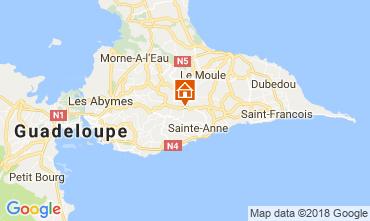 Map Sainte Anne (Guadeloupe) House 115139