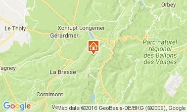 Map La Bresse Hohneck Chalet 106880