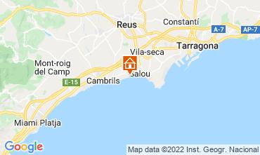 Map Cambrils Apartment 114023